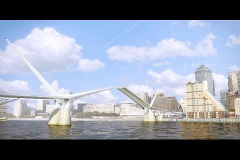 Canary Wharf Rotherhithe Bridge